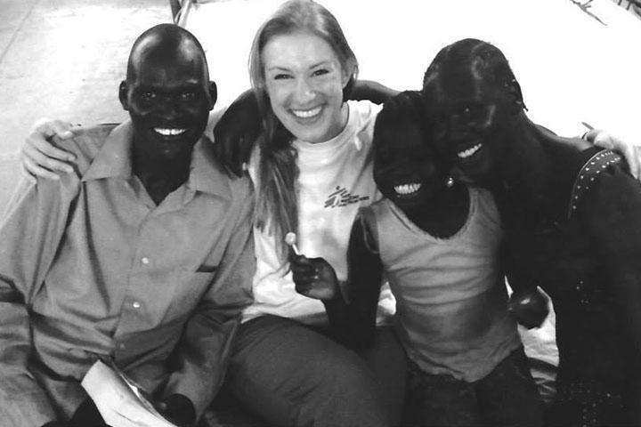 Elisa Birri psicologa per Medici Senza Frontiere